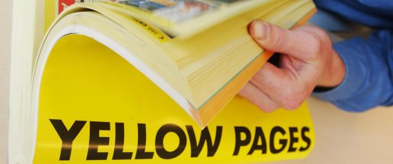Why people can't find you in the yellow pages